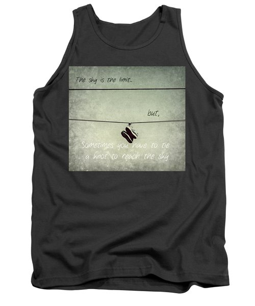All Tied Up Inspirational Tank Top by Melanie Lankford Photography