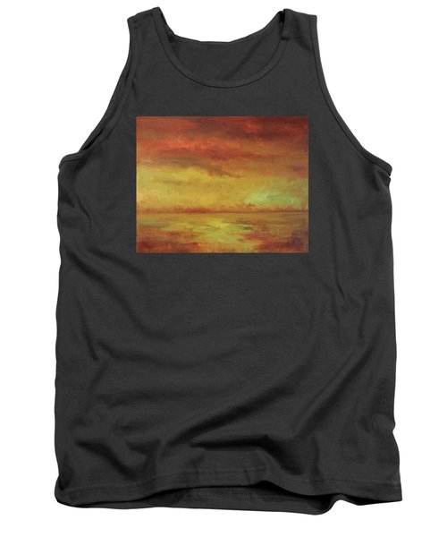 Tank Top featuring the painting Allegro by Mary Wolf