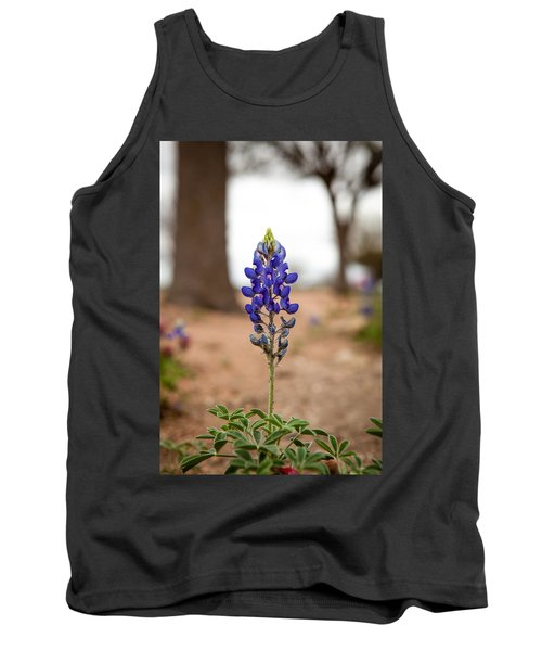 Alone In The Woods Tank Top