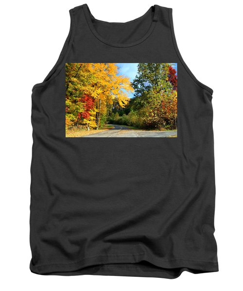 Tank Top featuring the photograph Along The Road 2 by Kathryn Meyer