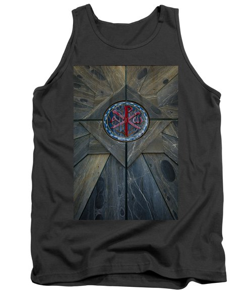 Alpha And Omega Chi Rho Tank Top