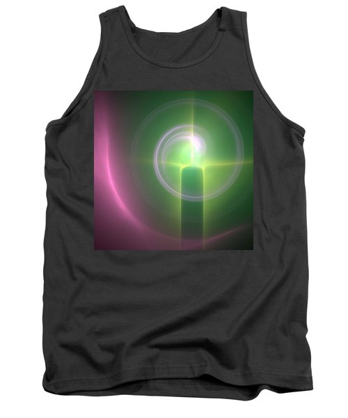 Tank Top featuring the digital art Altar by Svetlana Nikolova