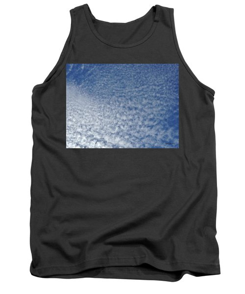 Tank Top featuring the photograph Altocumulus Clouds by Jason Williamson