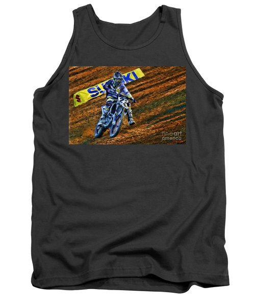 Ama 450sx Supercross Jason Anderson Tank Top