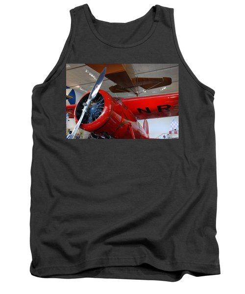 Amelia Earhart Prop Plane Tank Top