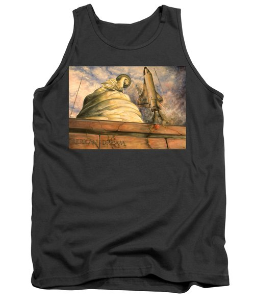 American Dream - Watercolor Tank Top