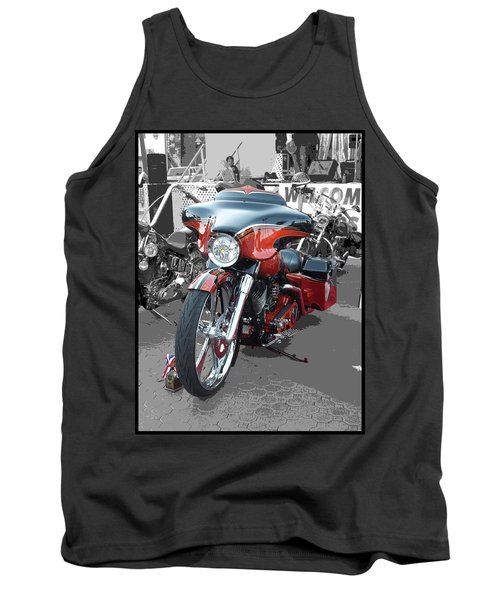 Tank Top featuring the photograph American Heat - Palm Springs by Glenn McCarthy Art and Photography