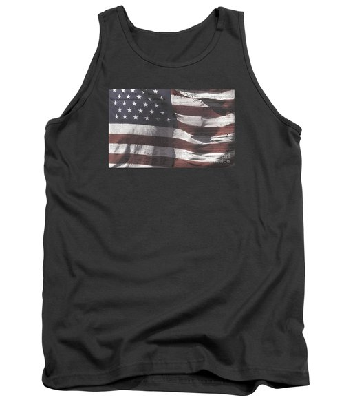 Historical Documents On Us Flag Tank Top