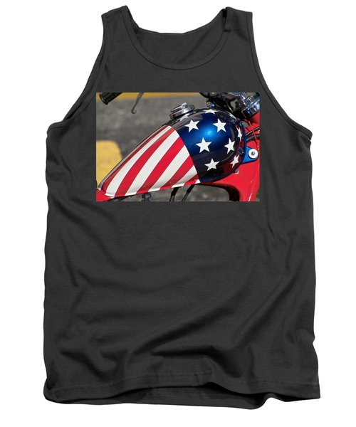 American Motorcycle Tank Top