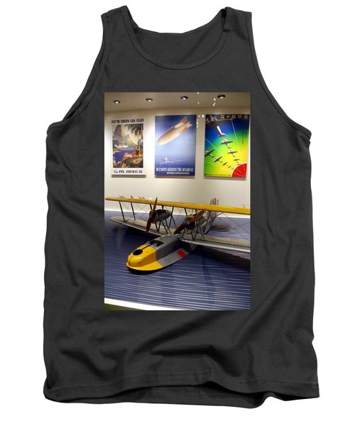 Amphibious Plane And Era Posters Tank Top