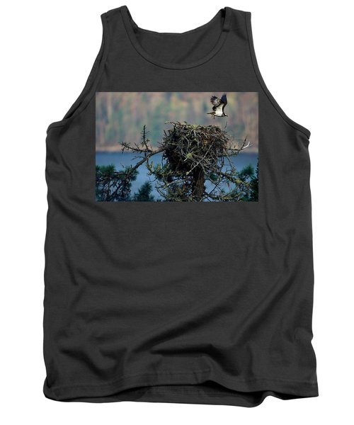 An Eagle Flying From Its Nest Tank Top