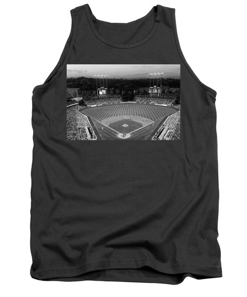 An Evening Game At Dodger Stadium Tank Top