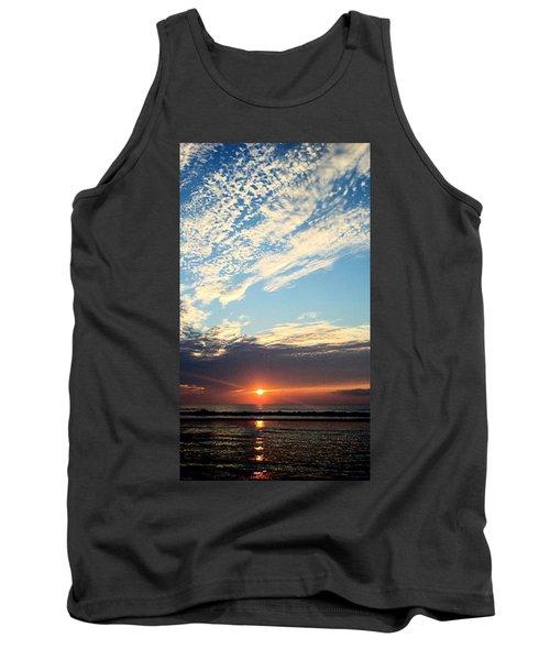 An Ocean And A Sunrise Tank Top