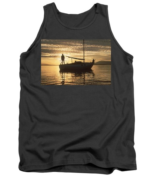Anchored Tank Top by Mark Alan Perry