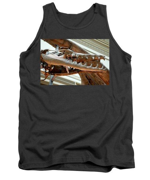 Ancient Crocodile Dinosaur Tank Top