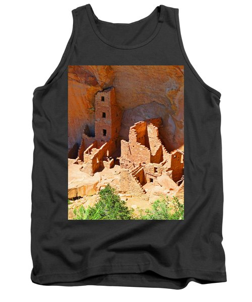 Ancient Dwelling Tank Top