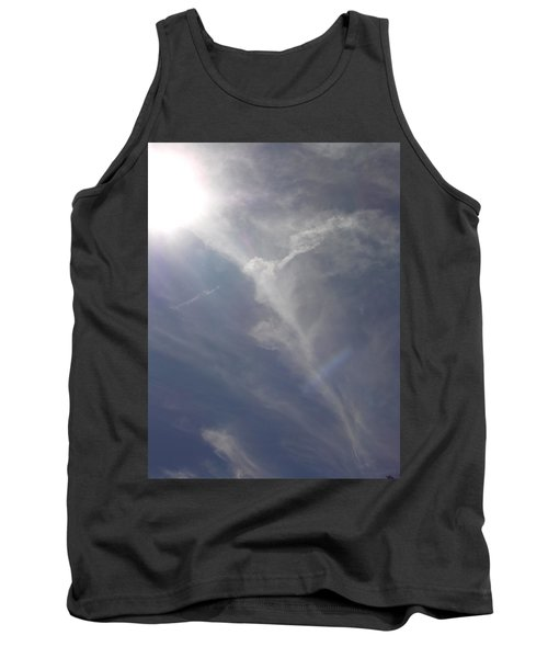 Angel Holding Light Tank Top