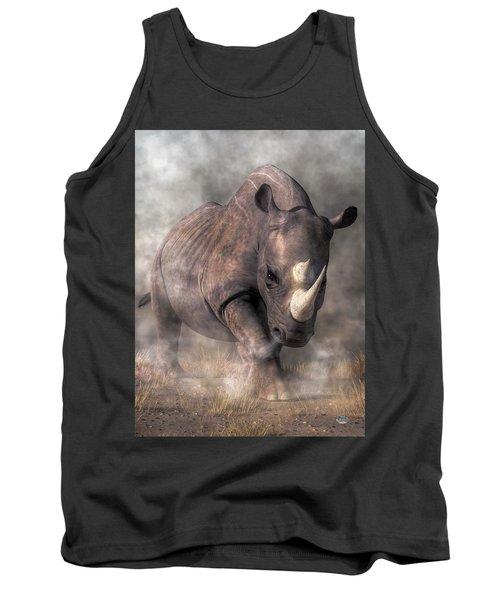 Angry Rhino Tank Top