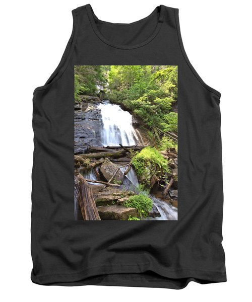 Anna Ruby Falls - Georgia - 4 Tank Top by Gordon Elwell