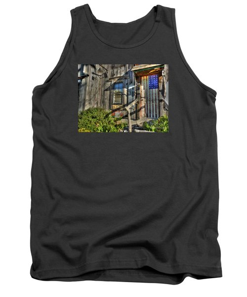 Tank Top featuring the digital art Another Faded Glory by William Fields