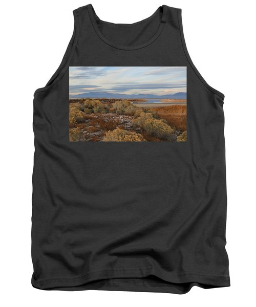 Tank Top featuring the photograph Antelope Island - Scenic View by Ely Arsha