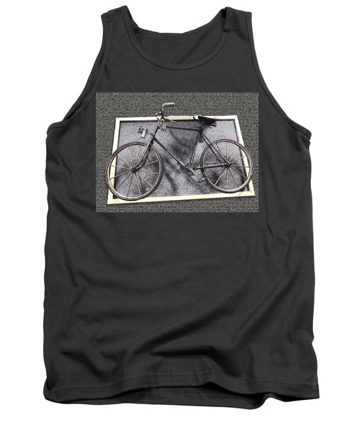 Antique Bicycle  Tank Top by Joyce  Wasser
