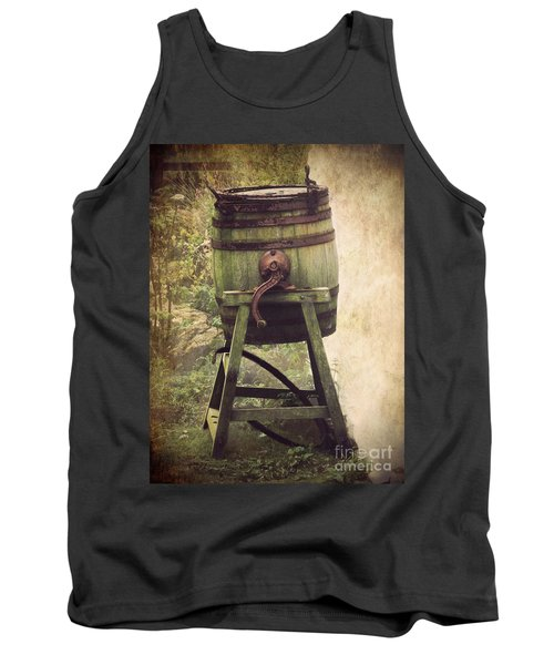 Antique Butter Churn Tank Top by Linsey Williams
