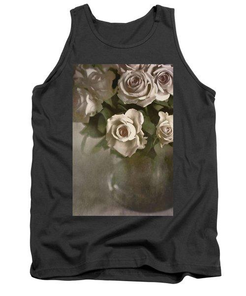 Antique Roses Tank Top
