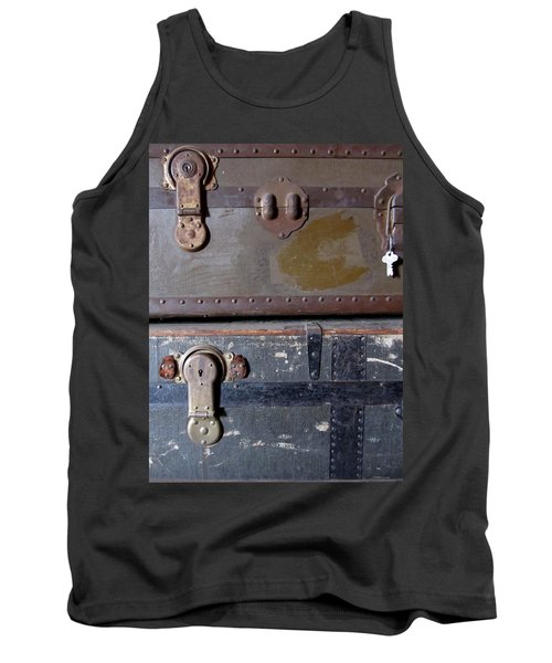 Antique Trunks 5 Tank Top