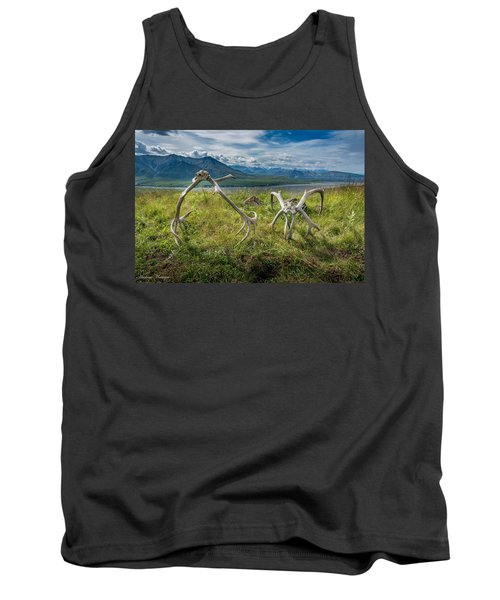 Antlers On The Hill Tank Top