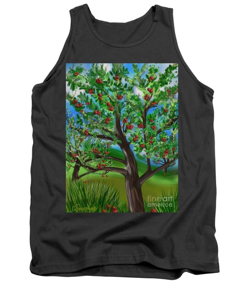 Apple Acres Tank Top by Christine Fournier