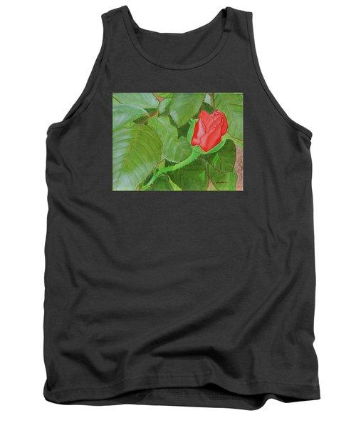Arboretum Rose Tank Top by Donna  Manaraze