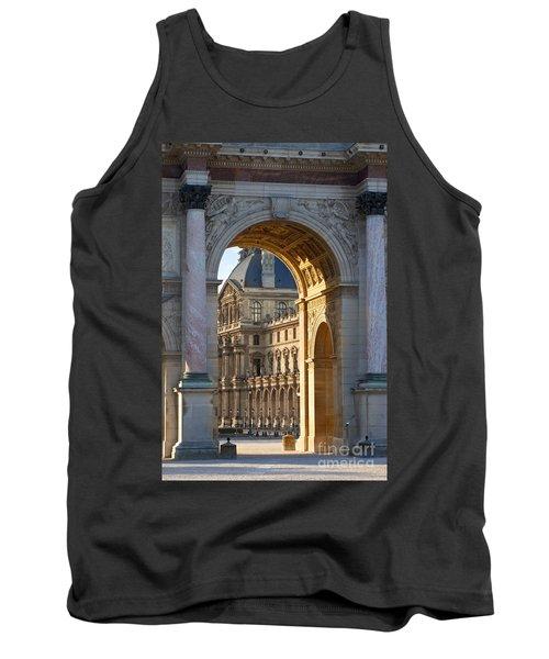 Arc De Triomphe Du Carrousel Tank Top