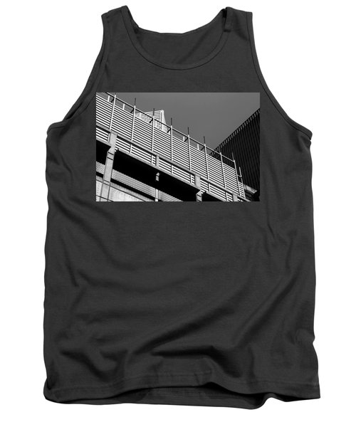 Architectural Lines Black White Tank Top
