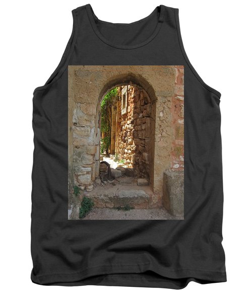 Tank Top featuring the photograph Archway by Pema Hou