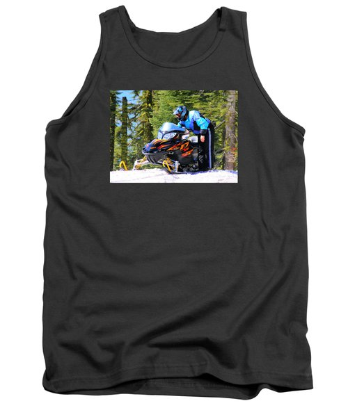 Arctic Cat Snowmobile Tank Top