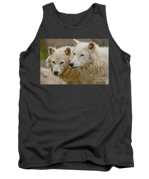 Arctic Wolf Pictures 1174 Tank Top