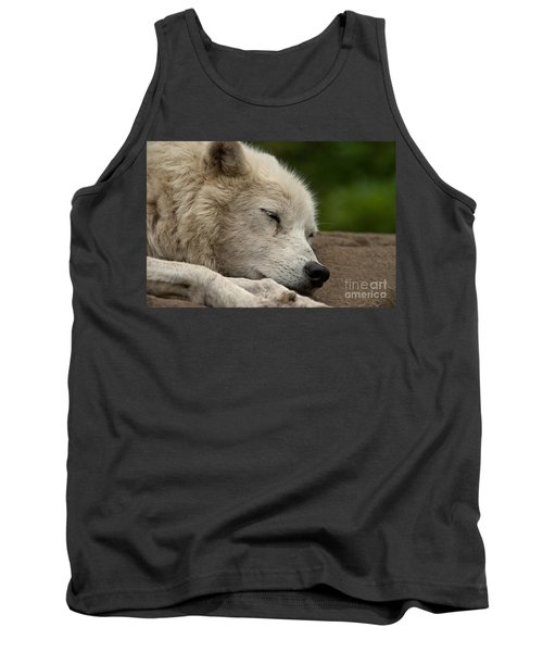 Arctic Wolf Pictures 155 Tank Top