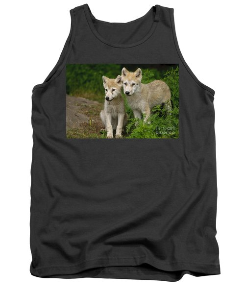 Arctic Wolf Puppies Tank Top