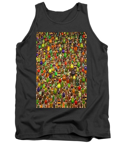 Army Of Beetles And Bugs Tank Top by Brooke T Ryan