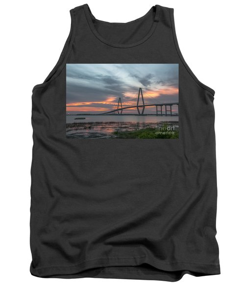 Tank Top featuring the photograph Orange Nebulous by Dale Powell