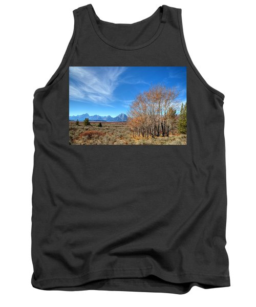 Tank Top featuring the photograph Aspen Last Stand  by David Andersen