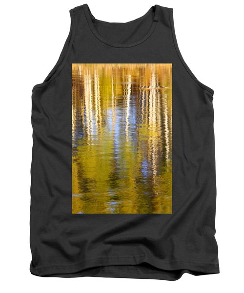 Tank Top featuring the photograph Aspen Reflection by Kevin Desrosiers