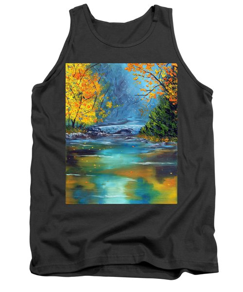 Tank Top featuring the painting Assurance by Meaghan Troup
