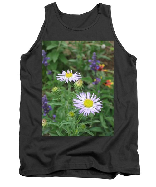 Asters In Close-up Tank Top