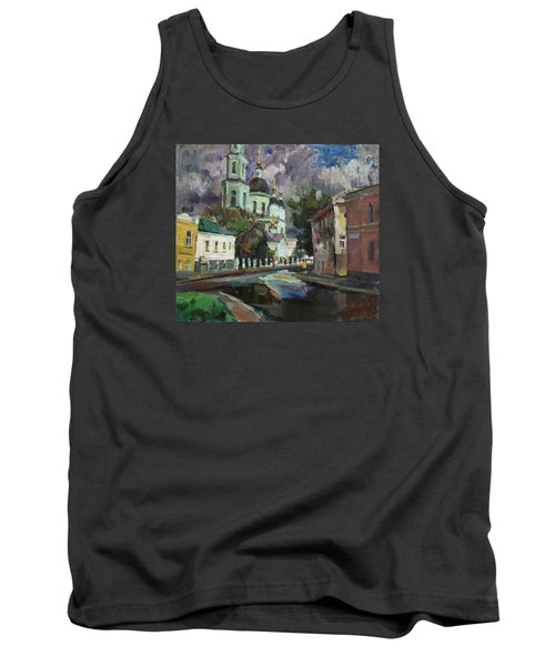 At The Church Sergius In Moscow Tank Top