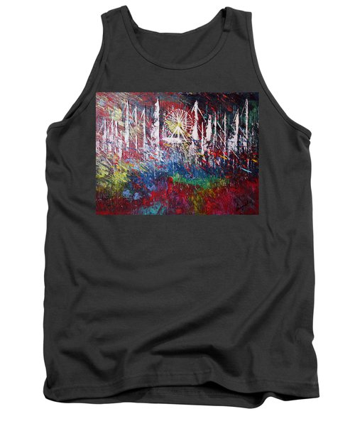 At The Top Tank Top by George Riney