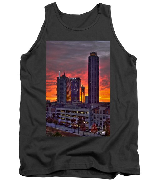 Atlantic Station Sunrise Reflections Atlanta Ga Tank Top