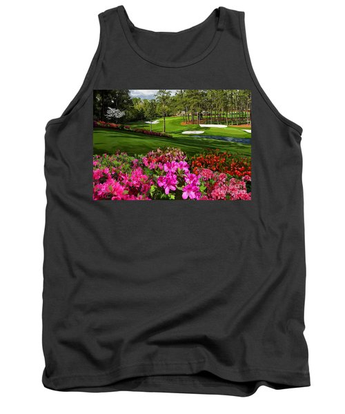 Augusta Azaleas 16th And 6th Tank Top