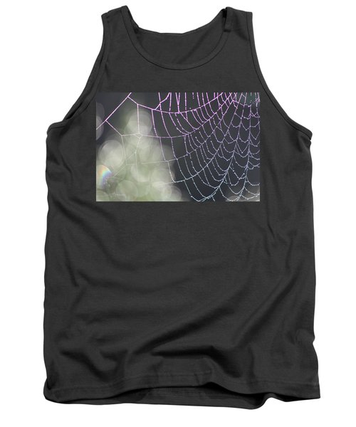 Tank Top featuring the photograph Aurora's Web by Cathie Douglas